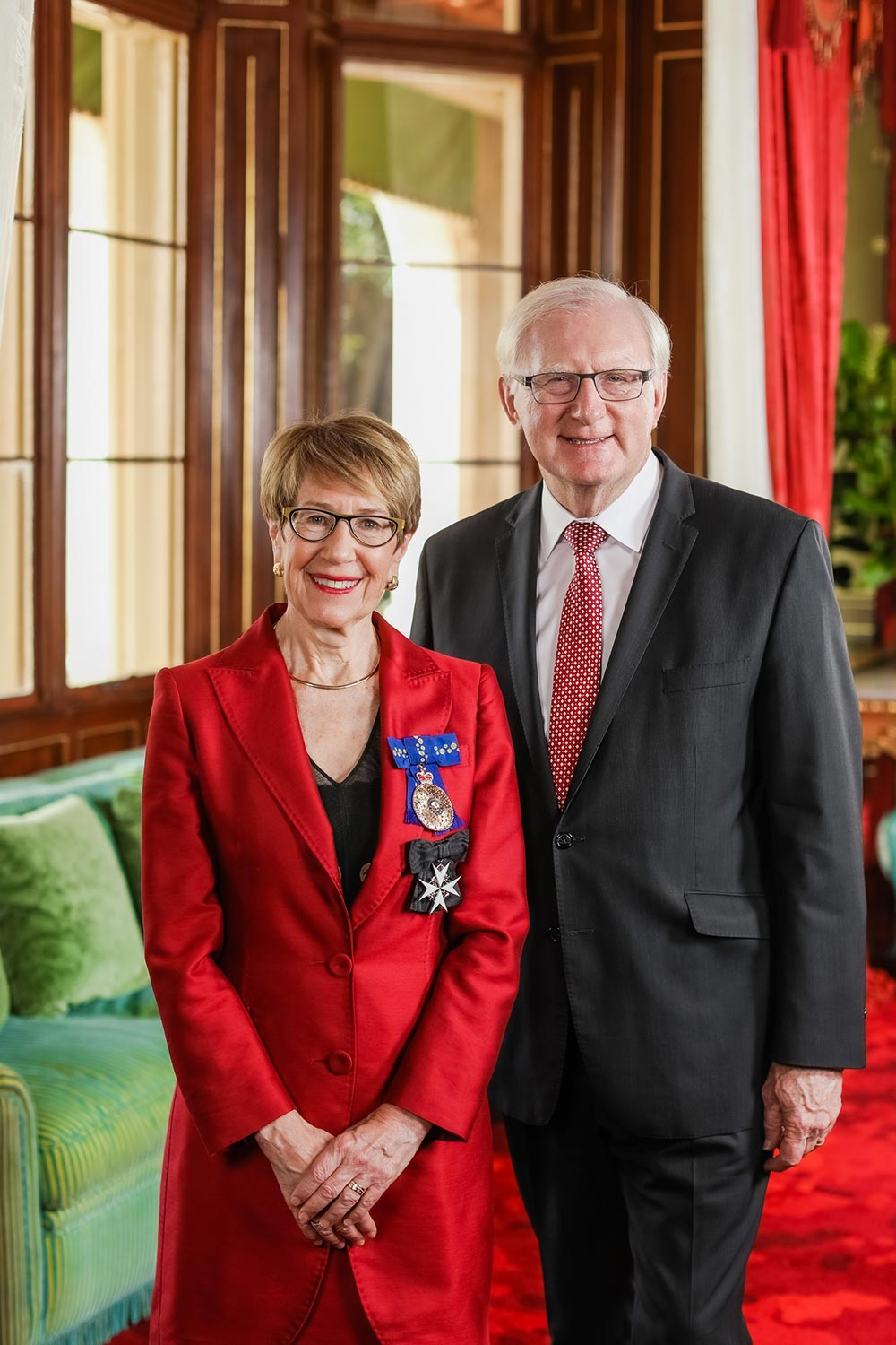 Her Excellency The Honourable Margaret Beazley AC QC, Governor of NSW and MR Dennis Wilson