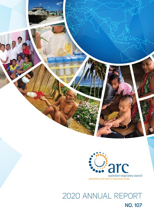 ARC Annual report 2020 Cover